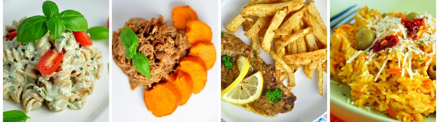 Rețete pentru prânz și cină cu puține calorii pentru cura de slăbire