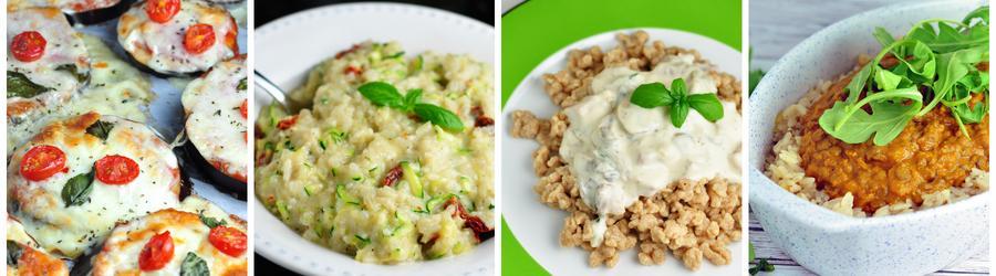 Rețete vegetariene sănătoase pentru prânz și cină - fără carne