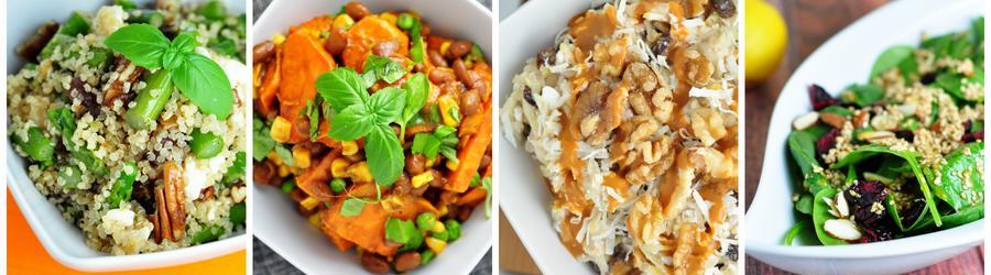 Rețete de salate vegane sănătoase