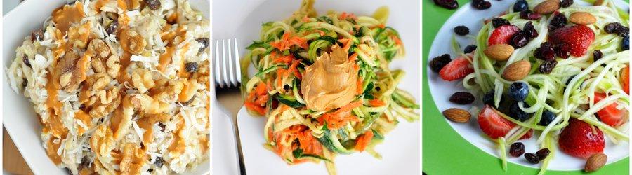 Rețete de salate sănătoase cu zucchini