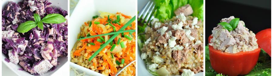 Salate sănătoase cu ton