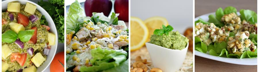 Rețete de salate sănătoase cu avocado