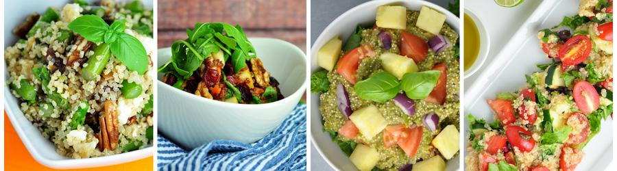 Rețete de salate sănătoase cu quinoa